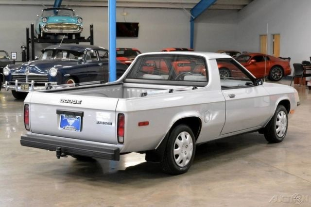 1984 Dodge Rampage 22L I4 8V Automatic Front Wheel Drive Truck 84 85