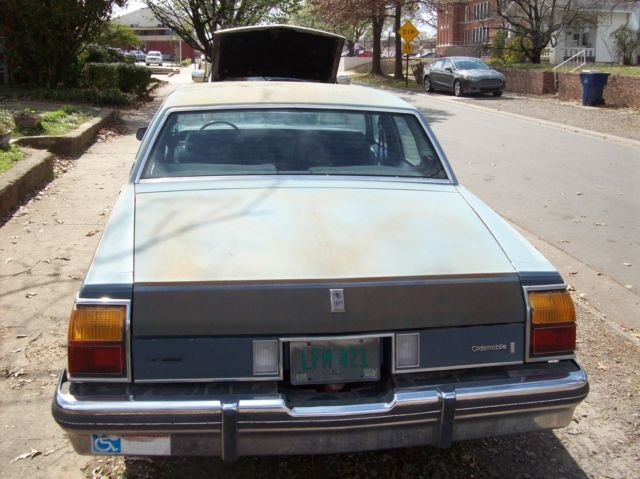 oldsmobile delta 88 royal brougham 4 door 455 motor est