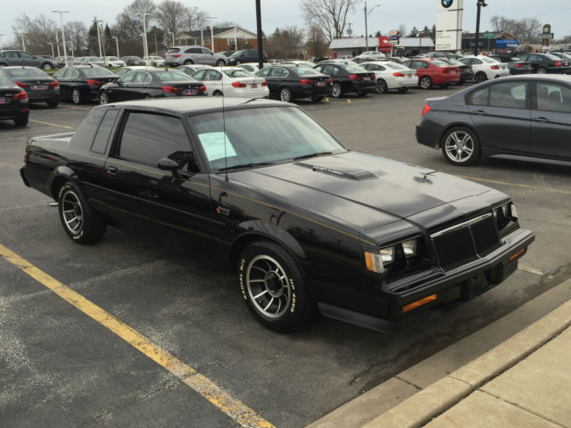1985 Buick Grand National Regal Coupe Turbo T Type 3 8l 6cyl T