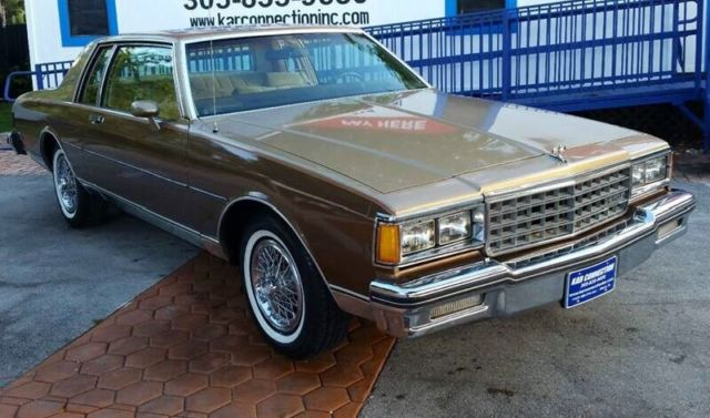 1985 chevrolet caprice classic 2 door 61 000 original miles always garaged kept american classic cars for sale