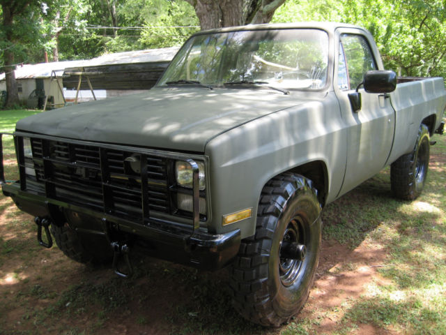 1985 chevrolet d30 4x4 m1008 military truck. Black Bedroom Furniture Sets. Home Design Ideas