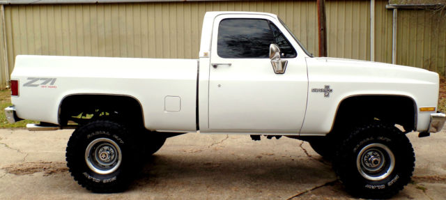1985 chevy 4x4 truck frame off 454 big block 35 39 s 6 lift. Black Bedroom Furniture Sets. Home Design Ideas