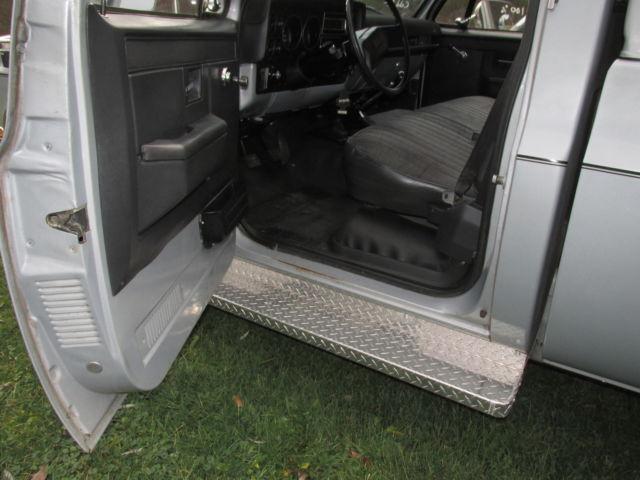 Chevy K Custom Deluxe Pickup All Original No Rust Barrel Speed