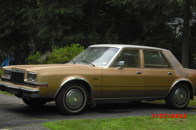 1985 dodge diplomat 4 door sedan for 1987 dodge diplomat salon