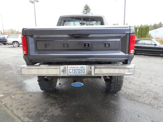 1985 Ford F150 4x4 Short Bed Lifted Built 351w Auto Beautiful Truck