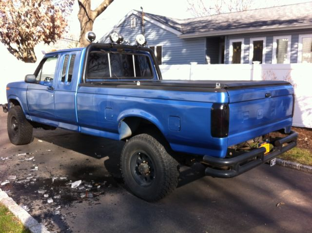Ford F250 8 Foot Bed For Sale >> 1985 Ford F250, Supercab, 4X4, 351, auto, lifted 35 inch tires
