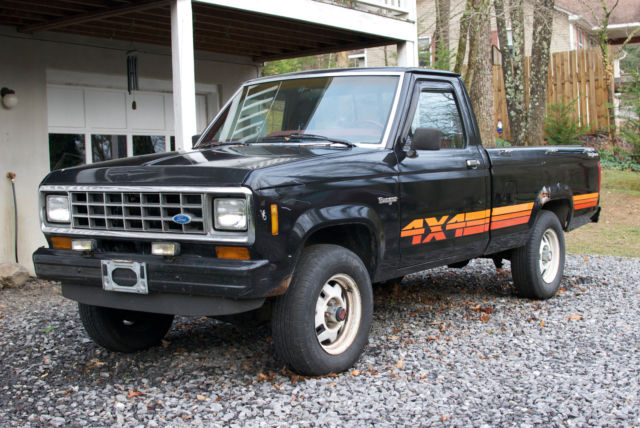 1985 ford ranger 4x4 explorer edition