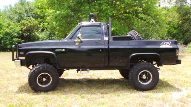 1985 gmc k1500 sierra classic standard cab short bed 4x4 texas truck rebuilt. Black Bedroom Furniture Sets. Home Design Ideas