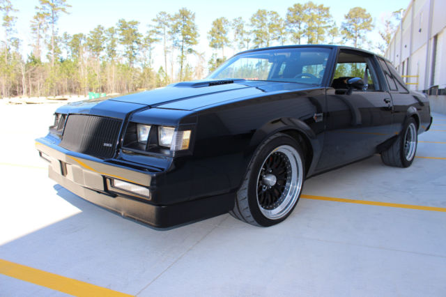 1986 buick grand national pro touring f a s t stand. Black Bedroom Furniture Sets. Home Design Ideas