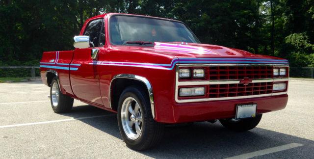 1986 Chevrolet Chevy C10 C 10 Silverado Custom Show Truck