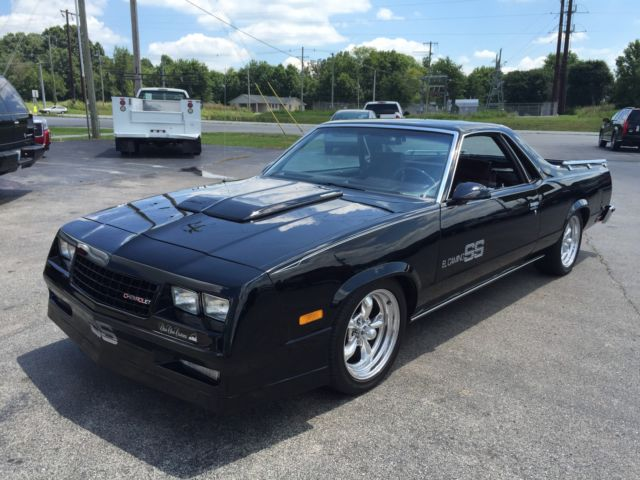 1986 Chevrolet El Camino SS 305 v8 Choo Choo Customs Edition