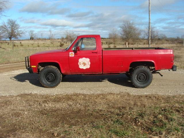 1986 Chevrolet M1008 K30 Cucv 4x4 Military Diesel 5  4 Ton