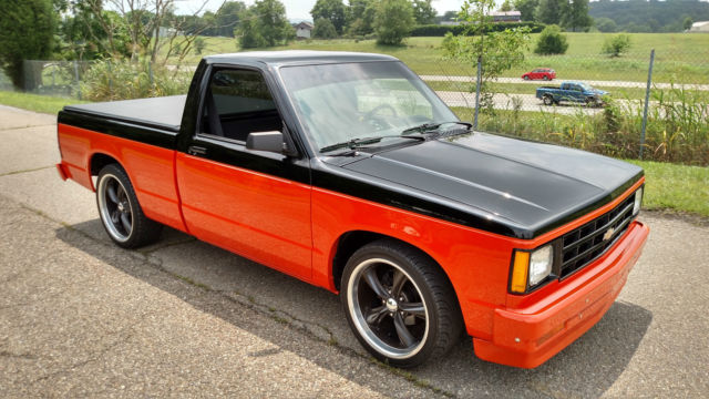 1986 chevy s10 v8 small block one of the nicest s10 out there. Black Bedroom Furniture Sets. Home Design Ideas