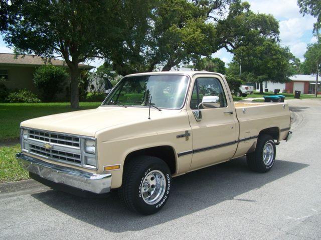 1986 Chevy Silverado / Scottsdale SWB Pickup Truck
