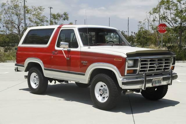 1986 ford bronco xlt automatic 4x4 v8 other gasoline. Black Bedroom Furniture Sets. Home Design Ideas