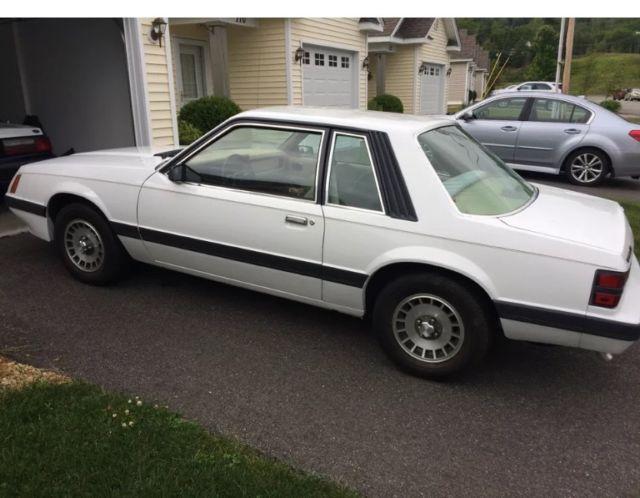 1986 Ford Mustang Lx V6 Auto 7900 Original Miles