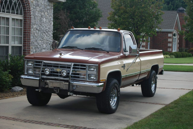 1987 Chevrolet 1 Ton Pickup Truck 4x4 Survivor 78 000mi
