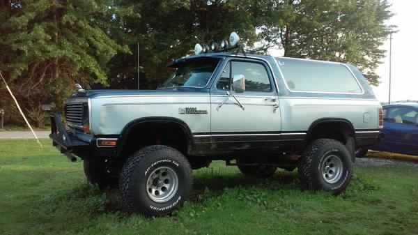 1987 Dodge Ramcharger Lifted New New Tires