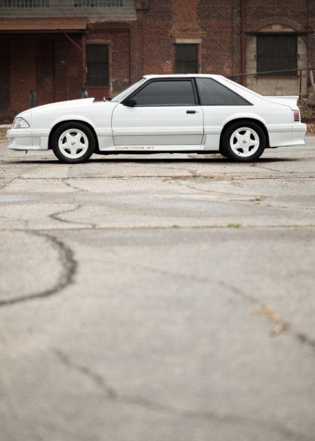 1987 Mustang Gt 5 0 Low Miles Fox Body Clean Saleen Cobra