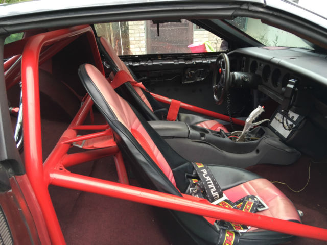 1987 Pro Street Pontiac Trans Am Tubbed Out Roll Cage Ls1