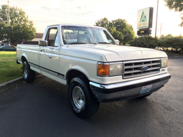 1988 ford f 150 xlt lariat 4x4 v 8 auto with low mile 39 s. Black Bedroom Furniture Sets. Home Design Ideas
