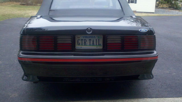 1989 Mustang Gt 25Th Anniversary Edition
