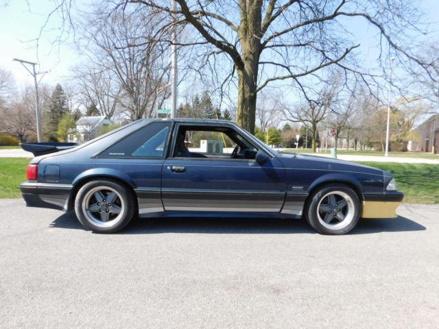 1989 Mustang Saleen Value