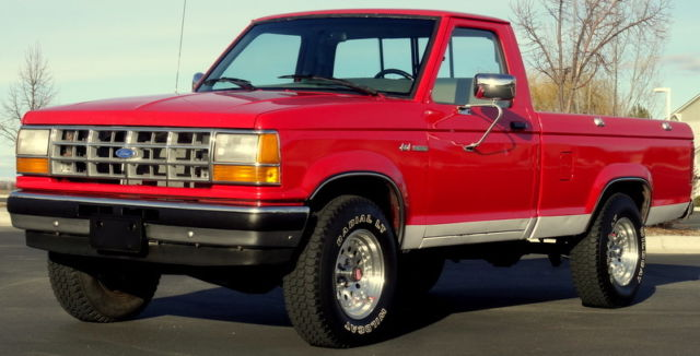1989 Ford Ranger, 4x4, 5-Speed. RARE Condition. 1 Family 4 ...