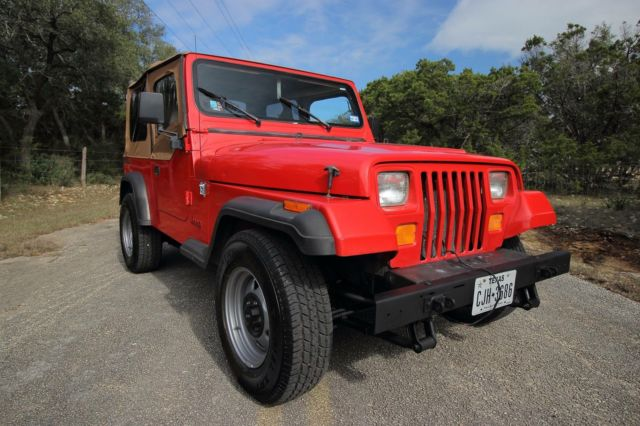 1989 Jeep Wrangler Yj 4x4 6 Cyl Manual One Owner 14k