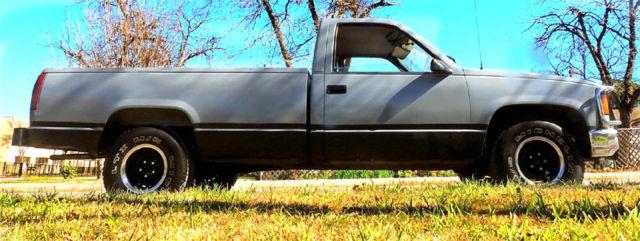 1990 Chevy C1500 Truck Longbed Fleetside  V-6 6 speed manual