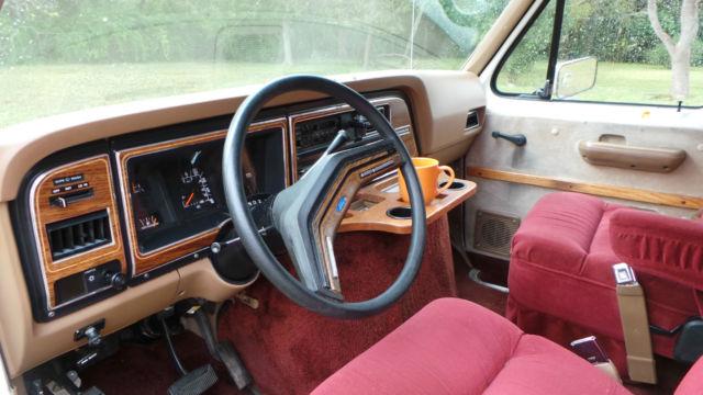 1990 Ford Econoline Conversion Van Mint Original With 33k