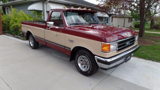 1990 ford f150 1 2 ton pickup xlt lariat truck. Black Bedroom Furniture Sets. Home Design Ideas