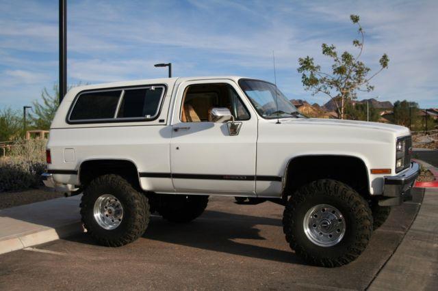 1990 Gmc Jimmy V1500 Sle Chevrolet K5 Blazer