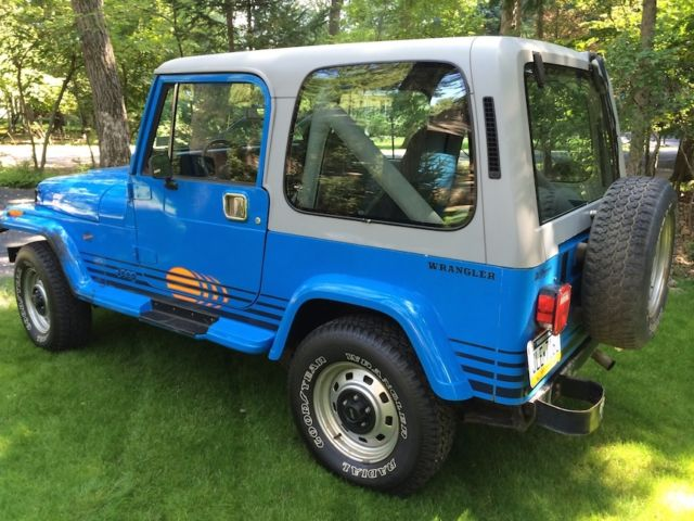 1990 jeep wrangler islander edition great condition all. Black Bedroom Furniture Sets. Home Design Ideas