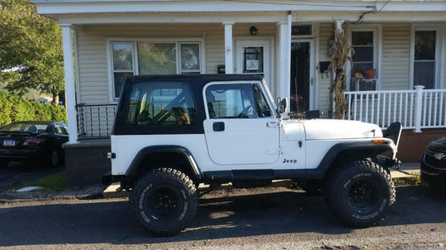 1990 jeep wrangler yj hard and soft top full and half