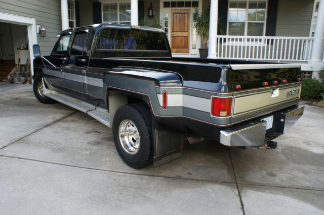 1991 CHEVROLET SILVERADO CREW CAB 3500 DUALLY 52,500 ...