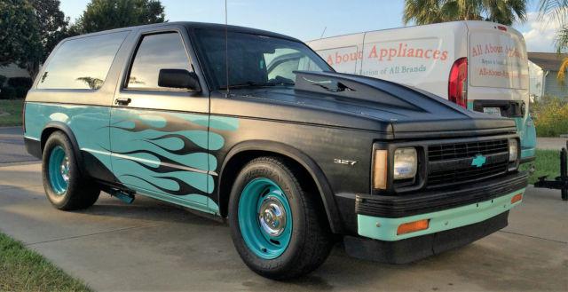1991 Chevy S10 Blazer 2wd Street Rod