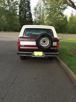1991 ford bronco full-size all original 4x4