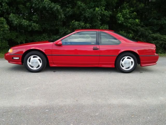 1991 FORD THUNDERBIRD SUPER COUPE 1 OWNER 18300 MILES NORESERVE