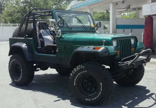 1991 Jeep Wrangler Yj Highly Modified Off Road Ready