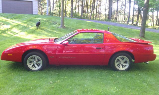 1991 Pontiac Firebird Formula Ws6 Same To Trans Am Iroc Z28 61 000 Miles