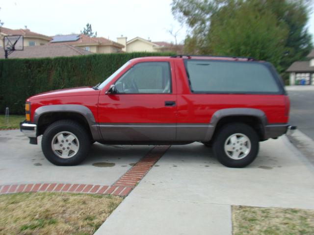 Buy used 1995 Chevrolet Tahoe LT Sport Utility 2-Door 5.7L ...