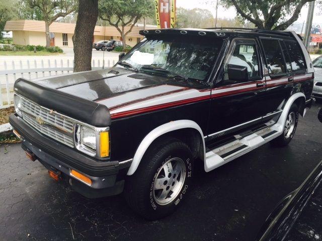 1992 Chevrolet S10 Blazer Base Sport Utility 4 Door 4 3l