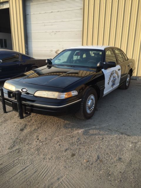 Used Cars Bakersfield >> 1992 FORD CROWN VICTORIA CHP POLICE CAR