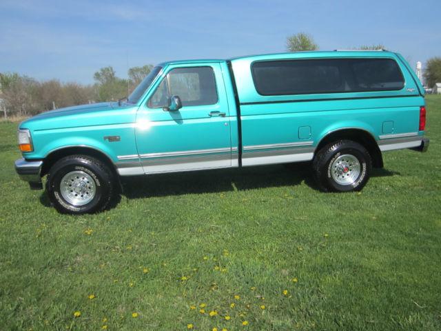 1992 ford f150 custom special edition xl xlt lariat 4x4 pickup 2dr head turner. Black Bedroom Furniture Sets. Home Design Ideas