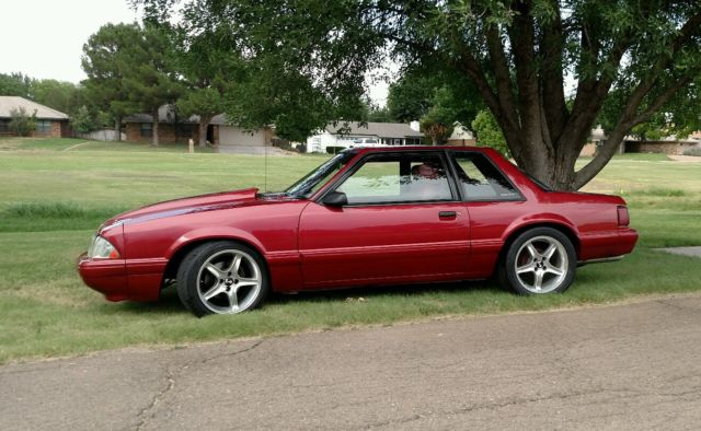 1992 FORD MUSTANG FACTORY 50 LX COUPE NICE EVERYTHING IS NEW