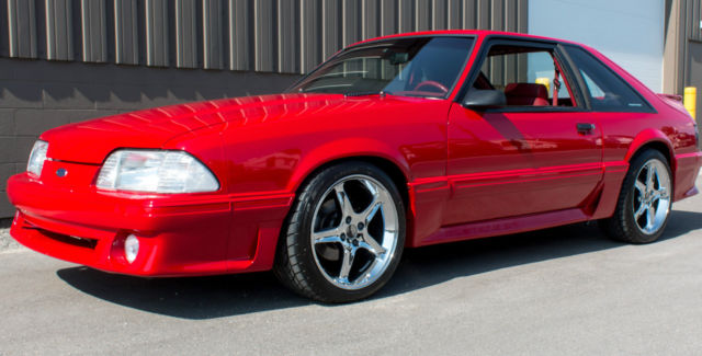 1992 Ford Mustang Gt 5 0 Five Speed Mint Condition High