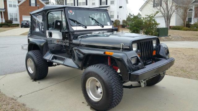 1992 Jeep Wrangler Renegade Sport Utility 2 Door 4 0l