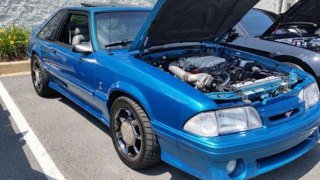 1993 ford mustang svt cobra for sale supercharged mint 77k miles. Black Bedroom Furniture Sets. Home Design Ideas