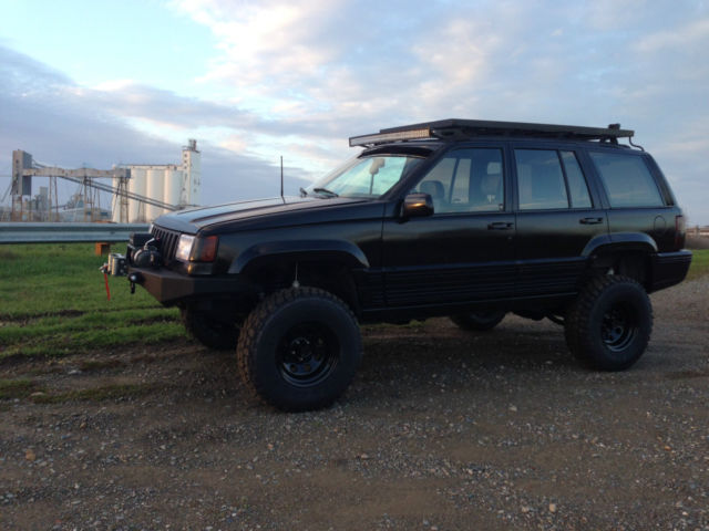 1993 jeep grand cherokee limited 4x4 lifted. Black Bedroom Furniture Sets. Home Design Ideas